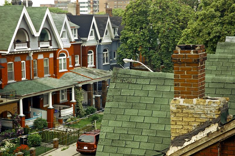 Rooftops, Toronto, Canada 2004