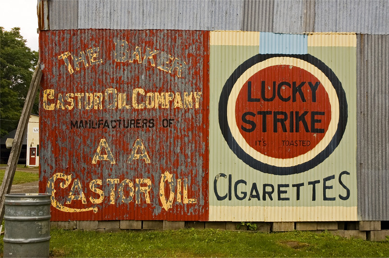 Advertising Signs, Old Rhinebeck Aerodrome, Rhinebeck, NY 2005