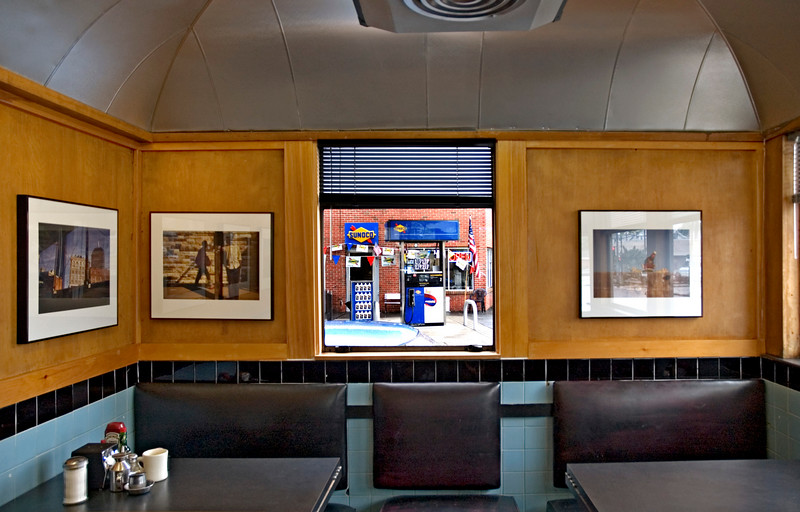 Photo Exhibit, Deluxe Town Diner, Watertown, MA 2004