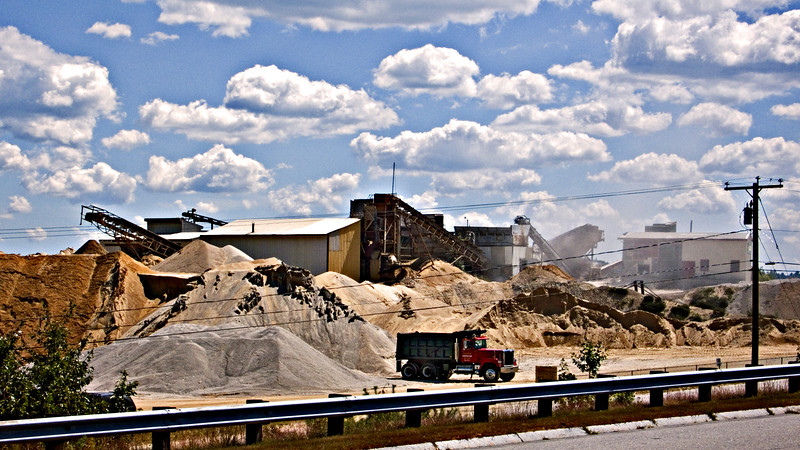 Sand & Gravel Plant, Route I-93, Southern NH 2007