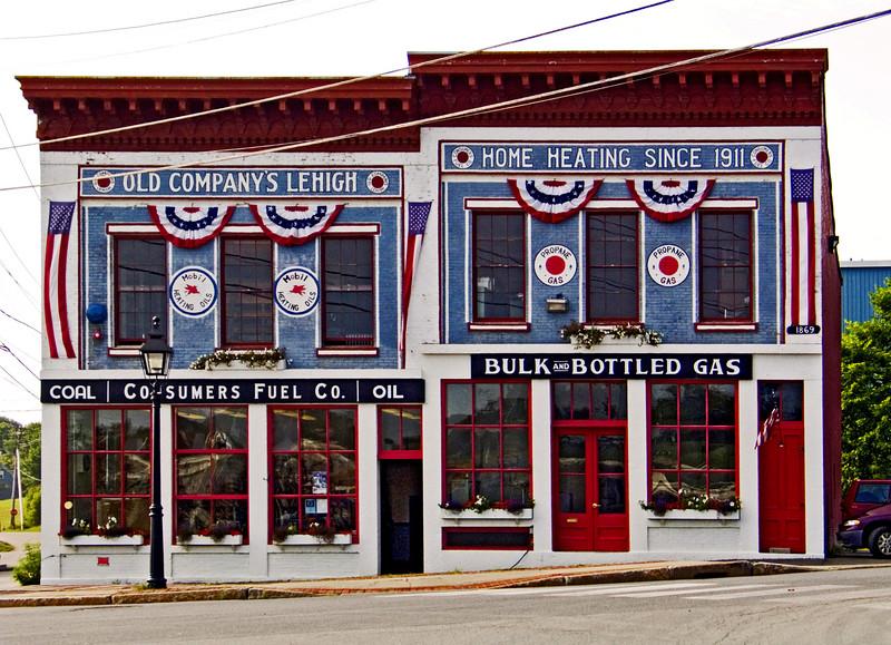 Elaborate Storefront, Belfast, Maine 2003