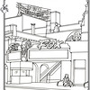 P. 12 Art<br /> Fox Theater, Fullerton<br /> Orange County's Colorful Past Coloring Book<br /> Commissioned by the Orange County Archives<br /> By Laura Hoffman<br /> <br /> Used by permission from the Orange County Archives