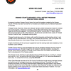 June 24, 2009 Press Release<br /> Coloring Book Wins National Award