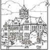 P. 11 Art<br /> Old County Courthouse, Santa Ana<br /> Orange County's Colorful Past Coloring Book<br /> Commissioned by the Orange County Archives<br /> By Laura Hoffman<br /> <br /> Used by permission from the Orange County Archives
