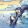 "Illustration for Page 10<br /> Penny the Rude Penguin<br /> Reader for 1st Graders - Reading A-Z<br /> Mixed Media<br /> By Laura Hoffman<br /> <br />  <a href=""http://www.readinga-z.com/book.php?id=1634"">http://www.readinga-z.com/book.php?id=1634</a>"