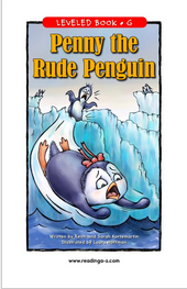 Cover Art for Penny the Rude Penguin