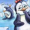 "Illustration for Page 4<br /> Penny the Rude Penguin<br /> Reader for 1st Graders - Reading A-Z<br /> Mixed Media<br /> By Laura Hoffman<br /> <br />  <a href=""http://www.readinga-z.com/book.php?id=1634"">http://www.readinga-z.com/book.php?id=1634</a>"