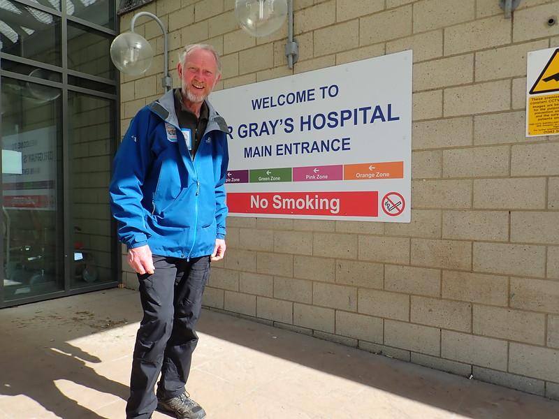 Brian at Dr Grays Hospital
