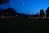 Interlaken by Moonlight at Dusk