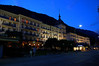 Victori-Jungfrau Hotel n Interlaken at Twilight