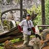 Boondog at Christine Falls in Mount Rainier National Park, Washington. WA-MtRainier-B09oct09-6041
