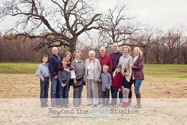Boone Extended Family December 2015