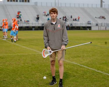 High School Lacrosse: Braves JV Lacrosse at Hagertuy High School.