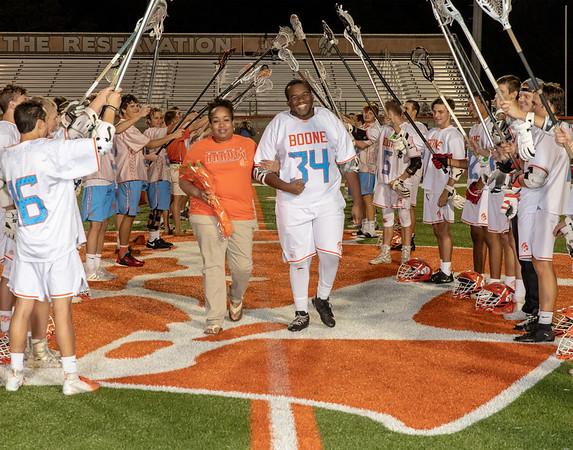 High School Lacrosse: Braves Honor Seniors