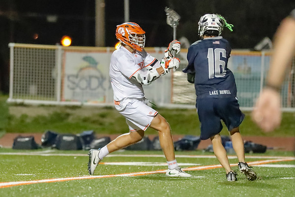 High School Lacrosse: Braves Varsity Lacrosse Host Lake Howell.