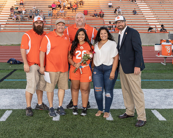 High School Flag Football: Braves Honor Seniors