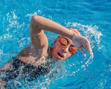 High School Swimming: Braves Host Timber Creek