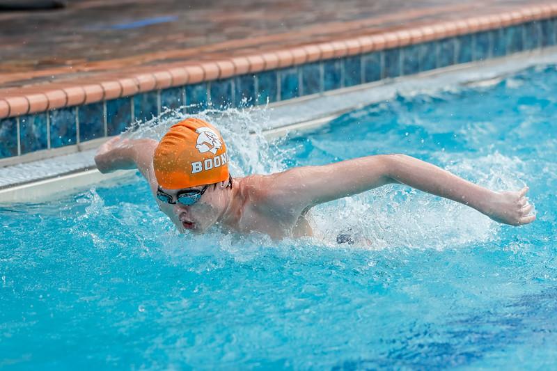 High School Swimming: Braves Host Lake Nona