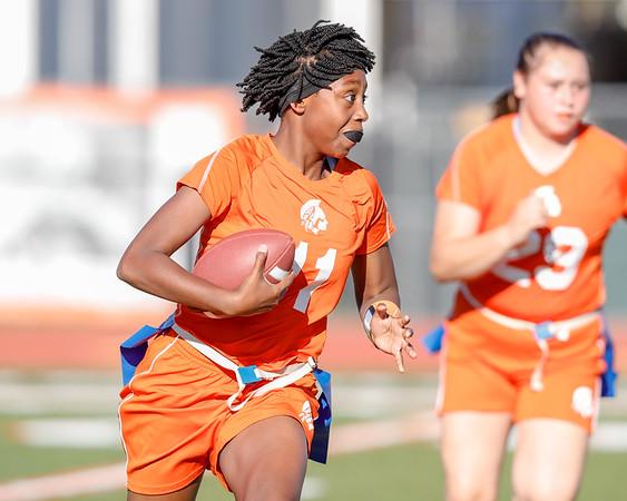 High School Flag Football: Boone High Varsity Flag Football Host Jones