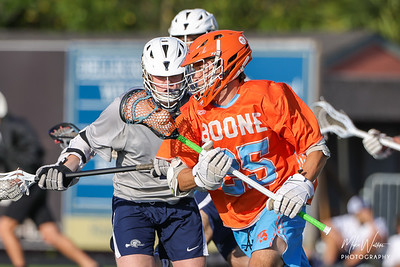 Apr 1, 2021; Orlando, FL, USA; Boone High Men's JV Lacrosse win 5-1 against Lake Howell High during a match at Richard L Evans Field. Mandatory Credit: Mike Watters-Boone High Sports