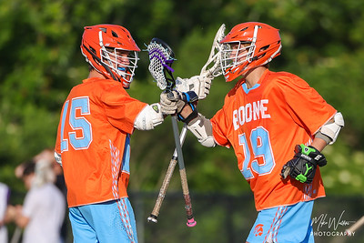 Apr 5, 2021; Orlando, FL, USA; Boone High Men's JV Lacrosse during a game against Timber Creek at Timber Creek High. Mandatory Credit: Mike Watters-Boone High Sports