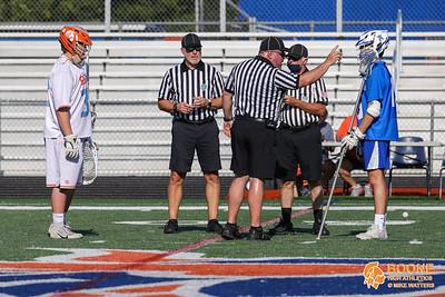 Apr 13, 2021; Winter Garden, FL, USA; Boone High Men's Varsity Lacrosse win district semi finals 23-0 against Apopka High at West Orange High School. Mandatory Credit: Mike Watters-Boone High Sports