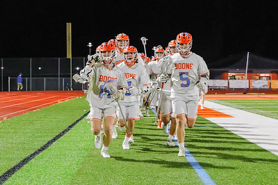 March 2, 2021; Orlando, FL, USA; Boone High Men's Varsity Lacrosse win 16-2 against Edgewater during a match at McCoy Federal Credit Union Athletic Complex. . Mandatory Credit: Mike Watters-Boone High Sports