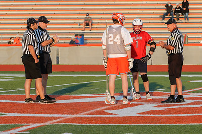 Mar 5, 2021; Orlando, FL, USA; Boone High Men's Varsity Lacrosse win 18-0 against Freedom High during a match at McCoy Federal Credit Union Athletic Complex. . Mandatory Credit: Mike Watters-Boone High Sports