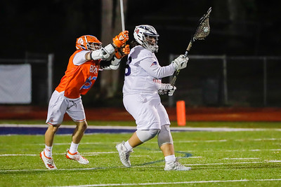 Feb 19, 2021; Altamonte Springs, FL, USA; Boone High Men's Varsity Lacrosse during a match against Lake Brantley at Lake Brantley High Field. Mandatory Credit: Mike Watters-Boone High Sports