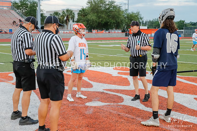 Mar 29, 2021; Orlando, FL, USA; Boone High Men's Varsity Lacrosse win 15-2 against Lake Nona during a match at McCoy Federal Credit Union Athletic Complex. . Mandatory Credit: Mike Watters-Boone High Sports