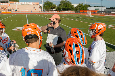 Apr 6, 2021; Orlando, FL, USA; Boone High Men's Varsity Lacrosse win 15-3 against The First Academy at McCoy Federal Credit Union Athletic Complex. Mandatory Credit: Mike Watters-Boone High Sports