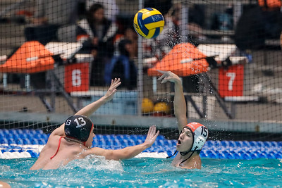 Feb 28, 2020; Orlando, FL, USA; Boone High Men's Water Polo during a match against Lake Mary at YMCA Aquatic Center. Mandatory Credit: Mike Watters-Boone High Sports