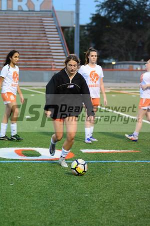 Girls JV Soccer vs Timber Creek 12-7-17