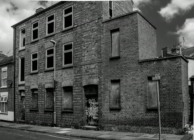 Abandoned shoe workshop, Duke Street, Northampton