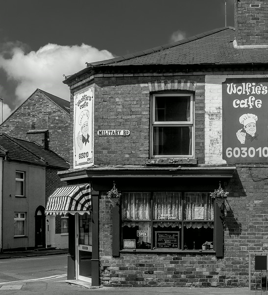 Wolfie's Cafe, Military Road, Northampton