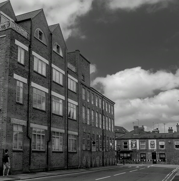 Shoe Factory, looking towards Military Road, Northampton