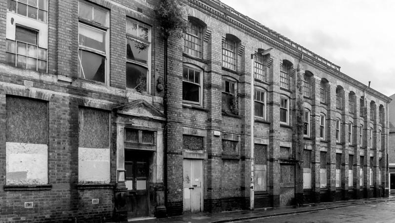 GT Hawkins shoe factory, Overstone Road, Northampton
