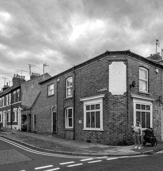 Former shop, Connaught Street, Northampton