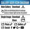 Gallery Icon diagram 1x1