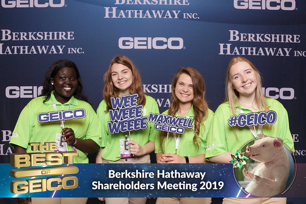 @GEICO #BRK2019, Berkshire Hathaway Shareholders Meeting, May 4, 2019