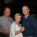 Rick Sanders, Vicky and Rick Weber.