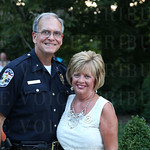 Chief of Police Steve Conrad and Joan Conrad.