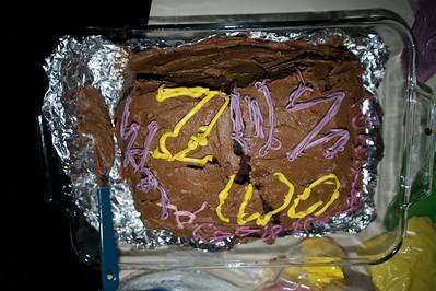 Vegan AHA cake