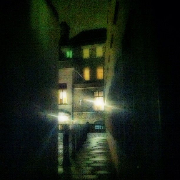 Bleak Corridor #london #noir