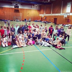 66 unge håpefulle har innledet høstens kjekkeste svømmeleir på Forsand!! Me storkose oss!!!