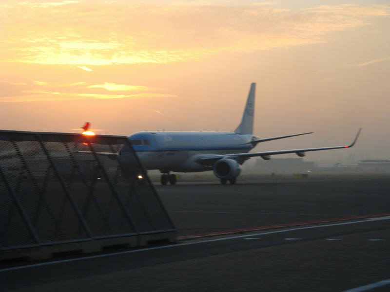 Arriving in Amsterdam