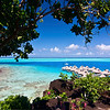 ~ Black Rocks of Bora Bora ~