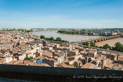 Bordeaux from above