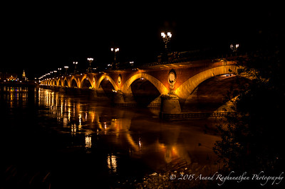 Pont de Pierre on the Garonne