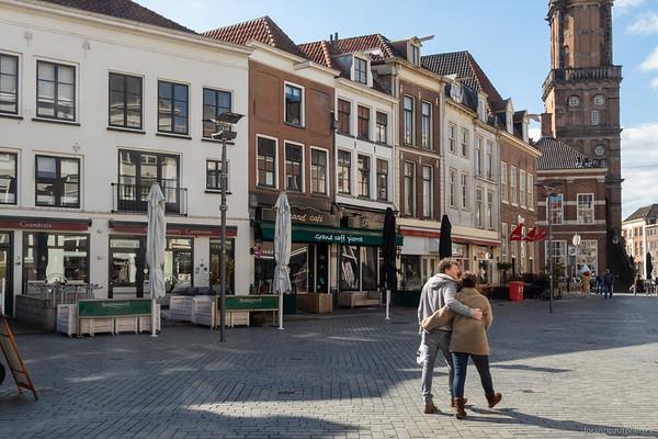 Gesloten terrassen, Houtmarkt